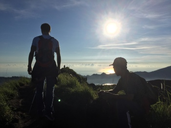 VIDEO: Sunrise Hike to Mount Batur Volcano, Bali