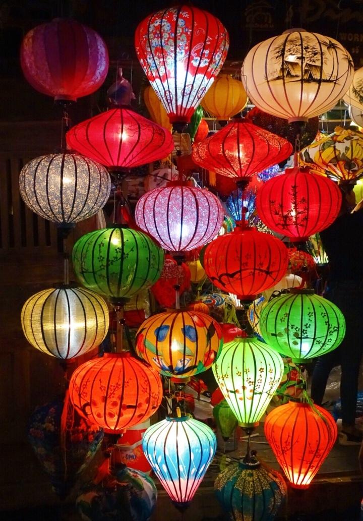The Night Market Lanterns, Hoi An